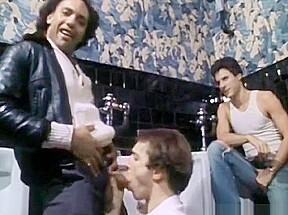 Seventies porn mens bathroom...