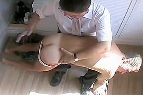 Billy gets a good spanking...