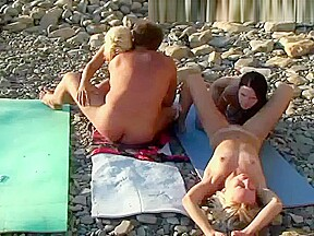 Hot swingers foursome...