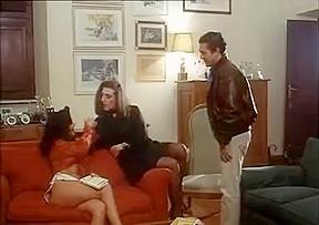 A MILF, a Crossdresser and a Bull