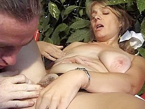 Busty brunette milf patient...