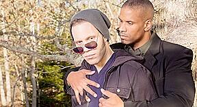 Wolf Hudson & Robert Axel in Guys Kissing Guys Video
