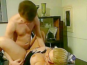 Mom seduce son indian aunty with son at...