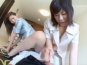 Amateur handjob femdom...