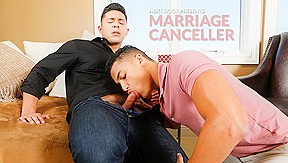 Hot gay marriage...