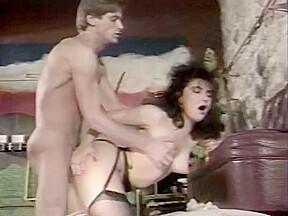 Brunette in lingerie booty cdi...