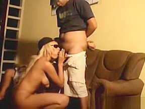 Sex with hot blondie...