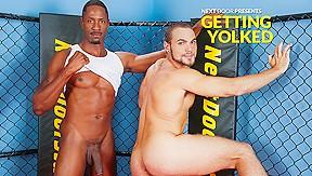 Brock Avery & Derek Maxum in Getting Yolked XXX Video
