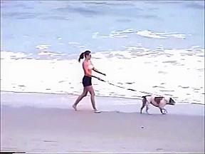 Beach makeout...