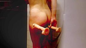 I recorded masturbating under the shower...