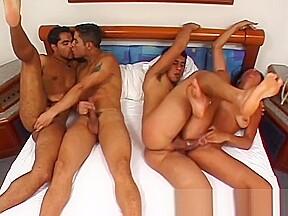 Acrobatic orgy...