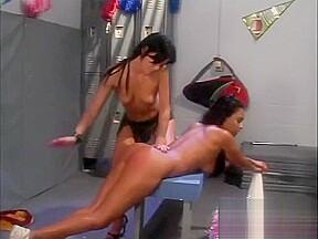Cheerleaders spanked scene 2...