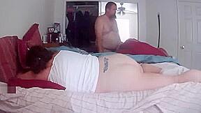 My bbw wife fucking a big fat dick...