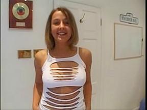 British Wench Hannah Harper in a FFM 3some