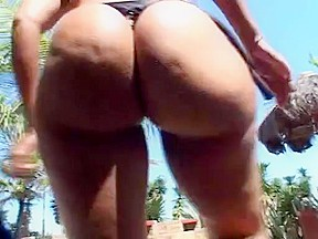 Perfect booty luana beach...