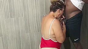 Cheating wife fucks black boys on vacation...