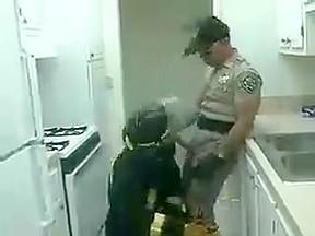 Plow me officer...