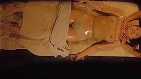 Luscious milf enjoys a wild massage session...