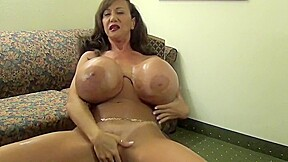 Dazzling breasty...
