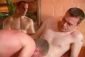 Group sauna with english lads...