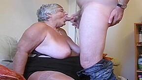 Old fat whore takes viagra...