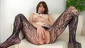 Savory japanese masturbation action...