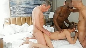 Aa vid hot interracial bareback fuck...