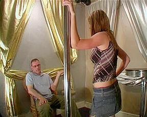 Lovely lap dancer hard...