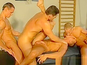 Kinky muscled dudes crazy hot gay fucking mma...