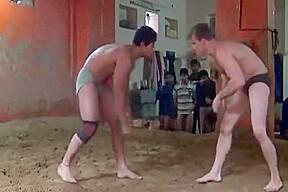 Indian wrestling...
