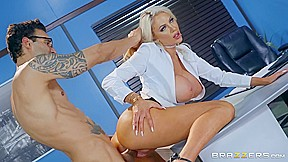 Nicolette Shea & Alex Legend In The View From Down Here Brazzers