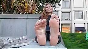 sweet big feet