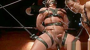 Bdsm arse and cock torture...
