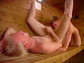 Sauna for two...