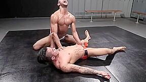 Wrestle 55 hard muscle bulging briefs...