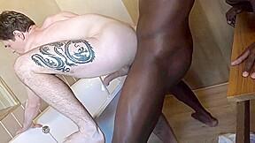 Interracial gay...