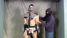 Captuured gagged and stripped...