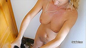 Nataliek masturbating in shop...