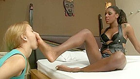 Brazilian queen degrading slave loser...