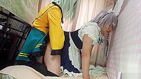 Pee patience cosplay anal sex...