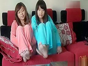 Chinese sexy feet...