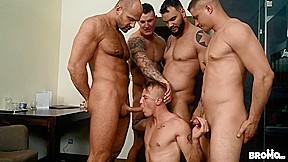 Tomm & Luke & Rudy Valentino & Jerome & Roman in Bromo Train Bang - Bromo