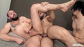 Luke & Peter Uman & Ray in Double Stuffed - Bromo
