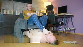 Master bassil humiliate fag slave for laugh when...