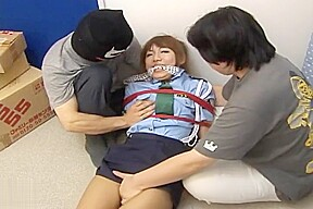 Jpdamsel miki policewoman bondage...