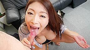 Lady Reiko Kobayakawa Sucks Her Boss Cock Japan HD