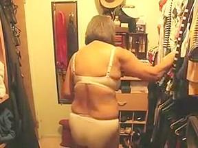 Granny closet cam...
