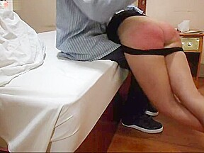 175 spanking and kneeling...