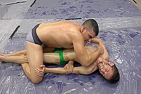 Donny vs nero angelo oli wrestling...