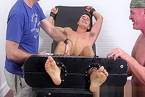 Matthew tickled...